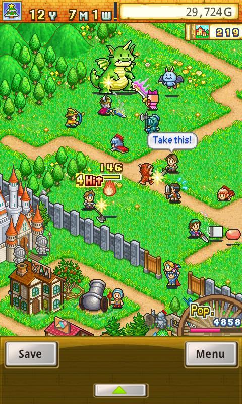 Dungeon Village screenshot #2