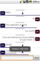Screenshot of Chat Box