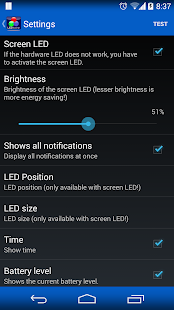 LED Blinker Notifications- screenshot thumbnail