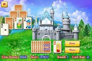 Screenshot of Magic Towers Solitaire