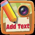 Fügen Sie Text auf Bilder App icon