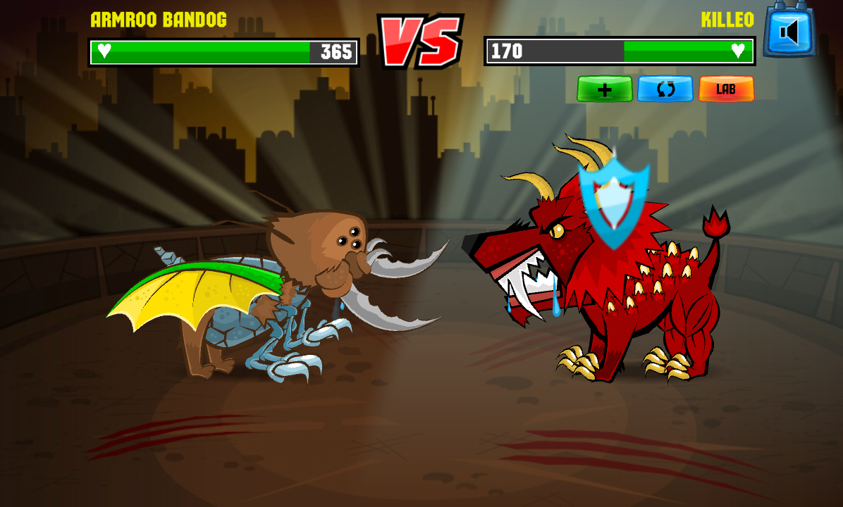 Mutant Fighting Cup - RPG Game- screenshot