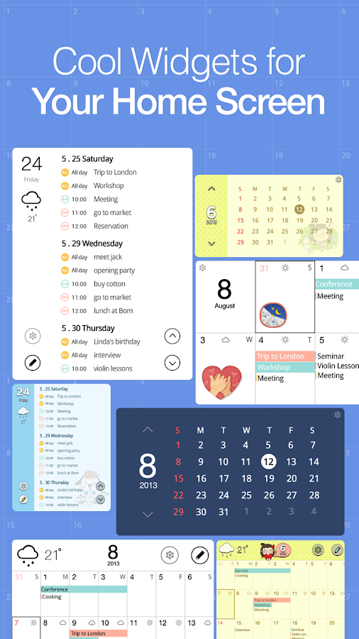 SolCalendar - Android Calendar - screenshot