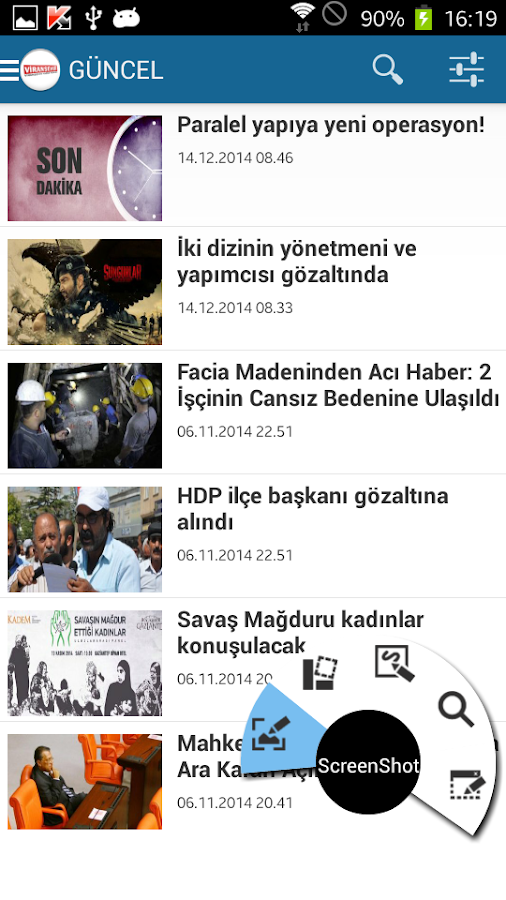 Viranşehir Haber- screenshot