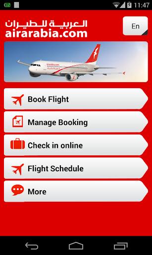 Air Arabia official app