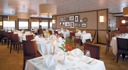 You'll find fine contemporary dishes with a French flair at Stella Bistro, aboard Windstar Cruises' Wind Surf.