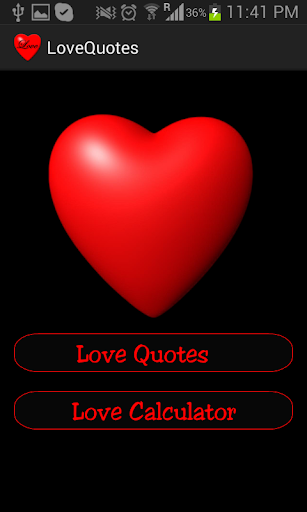 Love Quotes and Calculator