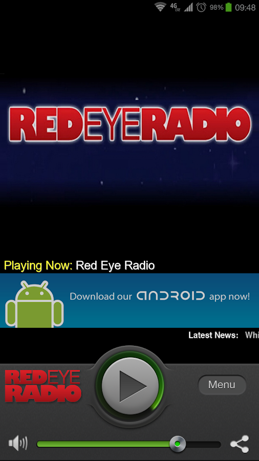 Red Eye Radio - screenshot