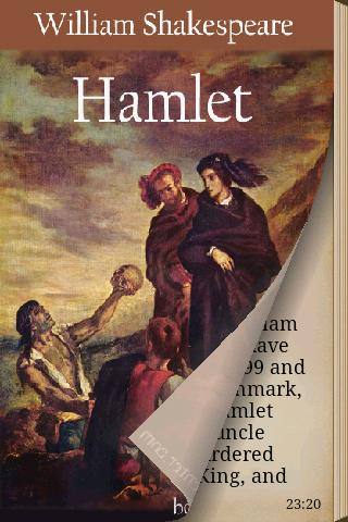 hamlet discloses his true feelings in a play by william shakespeare The tragedy of hamlet, prince of denmark, or more simply hamlet, is a tragedy by william shakespeare, believed to have been written between 1599 and 1601the play, set in denmark, recounts how prince hamlet exacts revenge on his uncle claudius, who has murdered hamlet's father, the king, and then taken the throne and married gertrude, hamlet's mother.