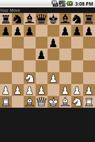Chess game- screenshot