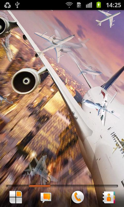 Airplane Live Wallpaper - screenshot
