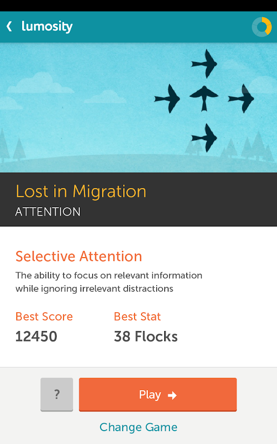 Lumosity - screenshot