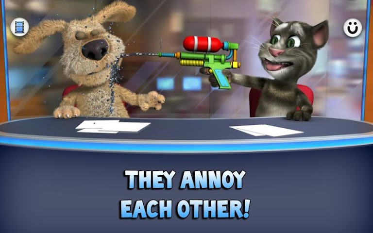 android Talking Tom & Ben News Screenshot 2