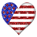 FREE American Heart Sticker logo