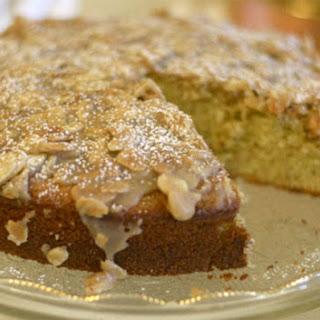 Almond Olive Oil Cake for Valentine's Day