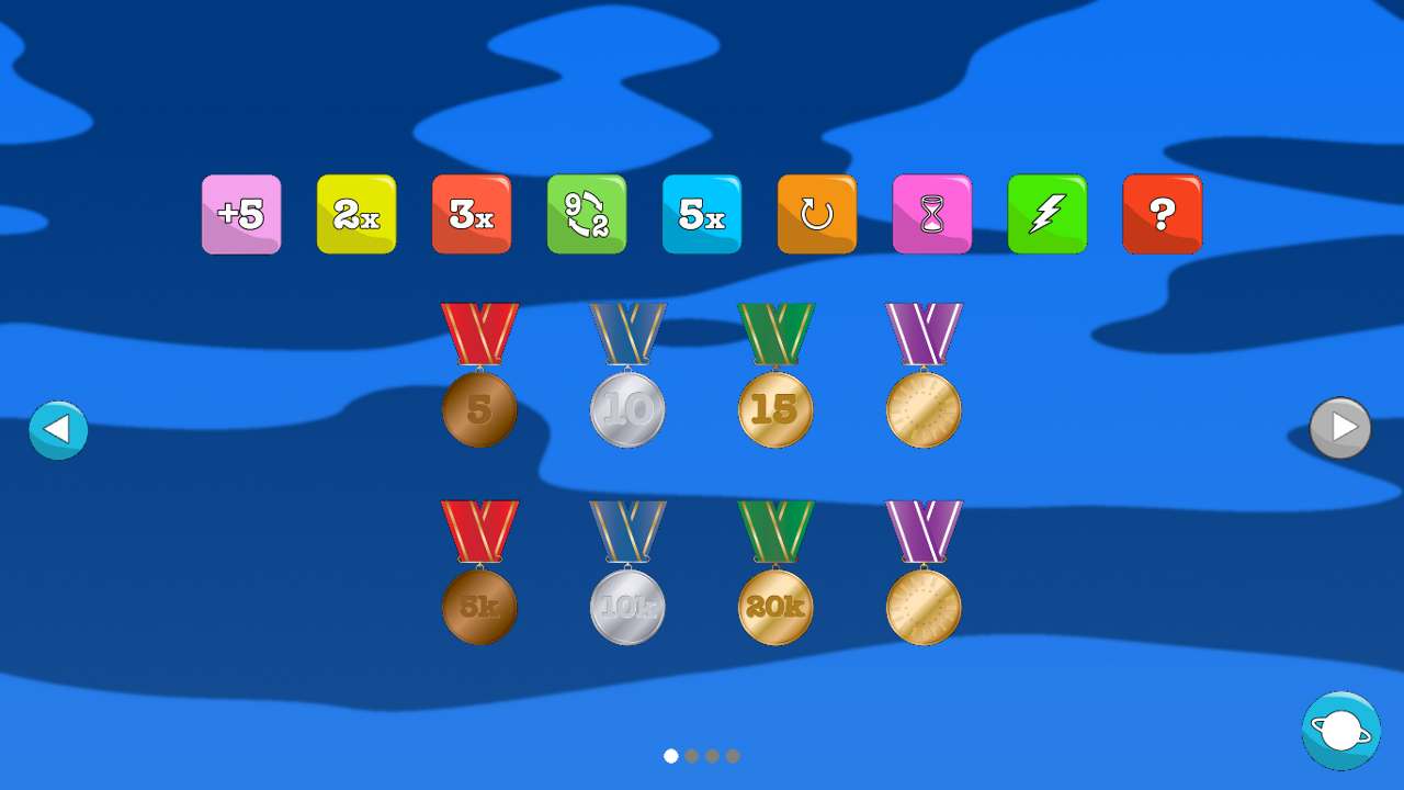 Multiplication Blocks - screenshot