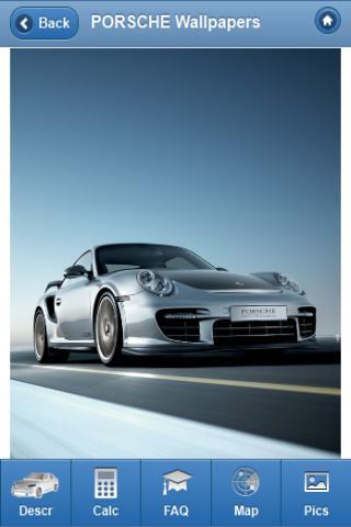 Leasing Calculator - Porsche - screenshot