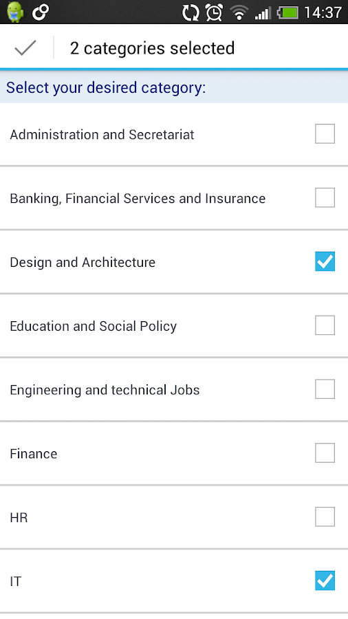 StepStone Job App - screenshot