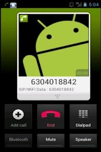 Eon Phone Pro.© - Mobile VoIP - screenshot thumbnail