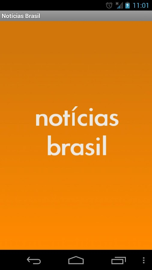Notícias Brasil - screenshot