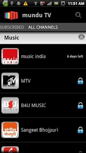 Mundu TV- Mobile TV, Live TV - screenshot thumbnail
