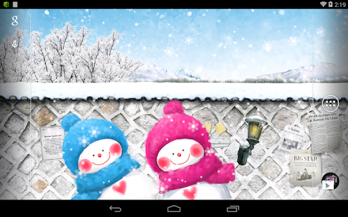 funny snowman live wallpaper android apps on google play