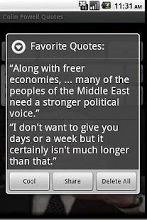 Colin Powell Quotes - screenshot thumbnail
