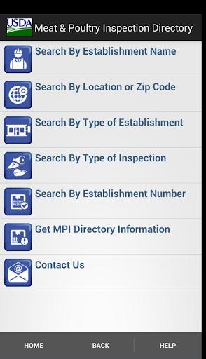 USDA MPI Directory