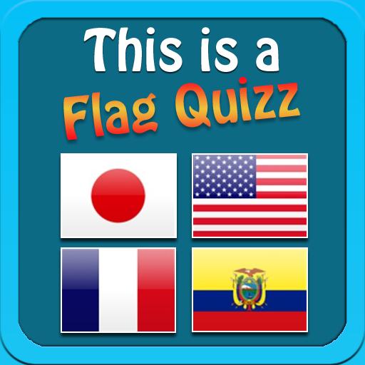 This is a Flag Quizz LOGO-APP點子