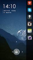 Screenshot of Swipe Panel