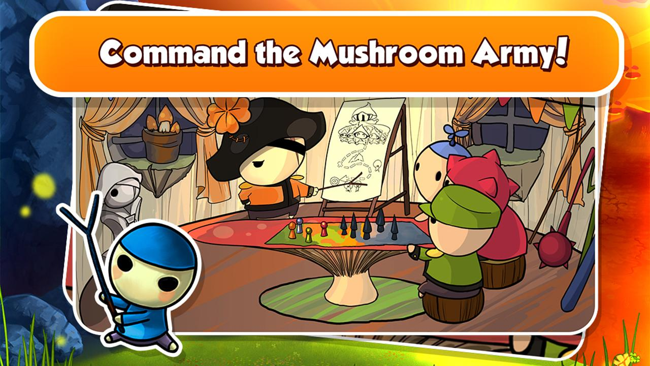 Mushroom Wars - screenshot