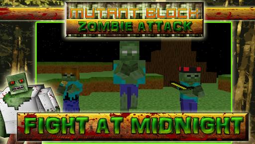Mutant Block Zombie Attack