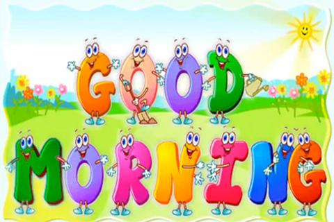 Good Morning Kids Rhyme