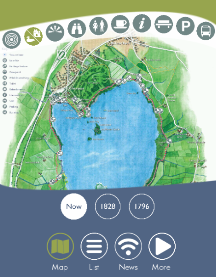 Loch Leven Heritage Trail- screenshot