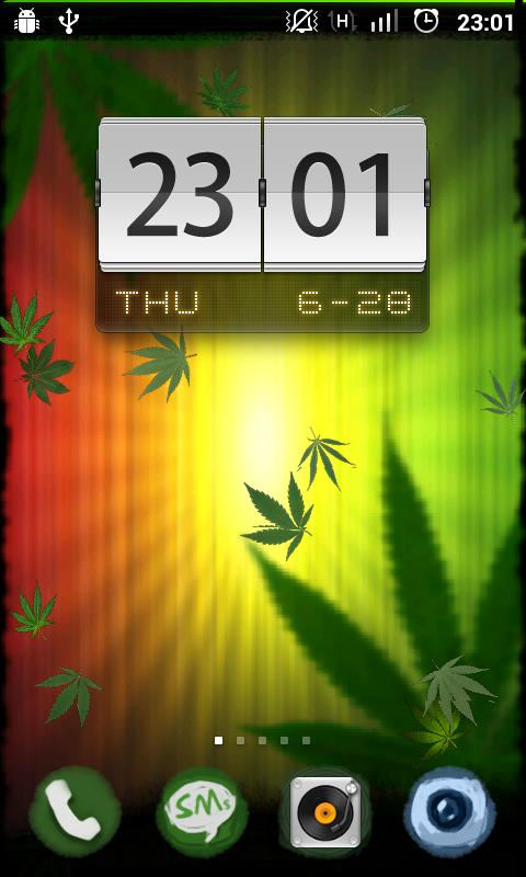 Cadere Weed Live Wallpaper