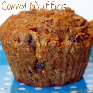 Flax Carrot Apple Muffins.