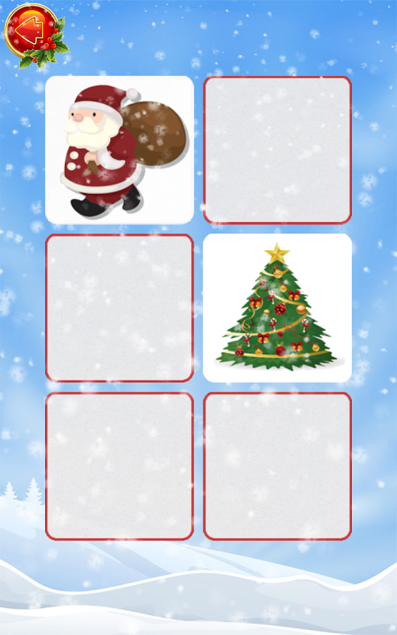 Christmas Find The Pair Free- screenshot