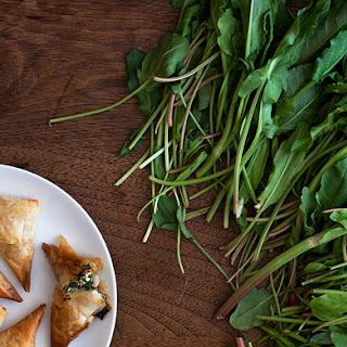 Spinach and Sorrel Spanakopita