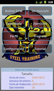 Steel Training Free - screenshot thumbnail