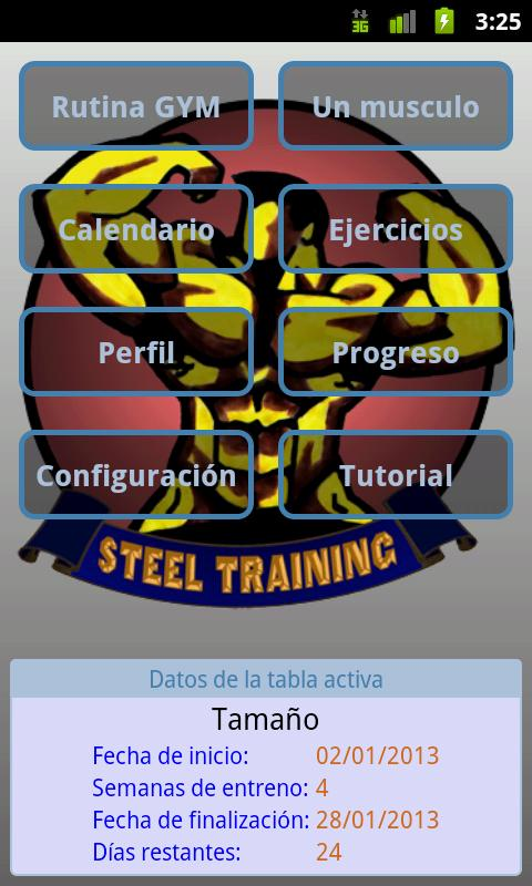 Steel Training Free - screenshot