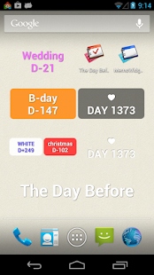 TheDayBefore D-Day widget