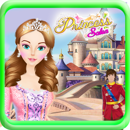 休闲のプリンセスサロンの女の子のゲーム LOGO-HotApp4Game