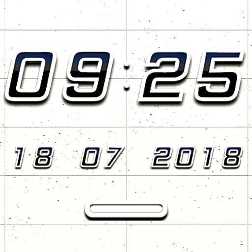 K1 Digital Clock Widget