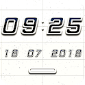 K1 Digital Clock Widget