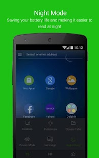 Dolphin Browser for Android - screenshot thumbnail
