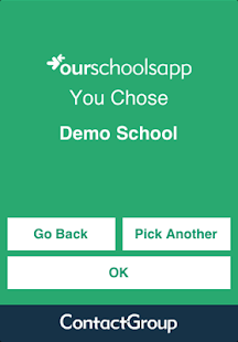 OurSchoolsApp- screenshot thumbnail