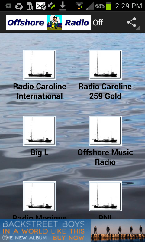 Offshore Radio- screenshot