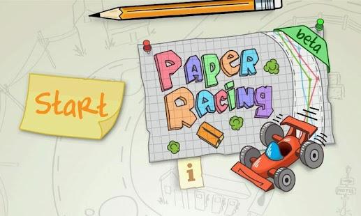 Paper Racing beta
