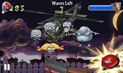 Zombie Toss FREE - screenshot thumbnail