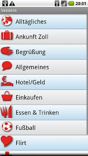 iSayHello German - Spanish- screenshot